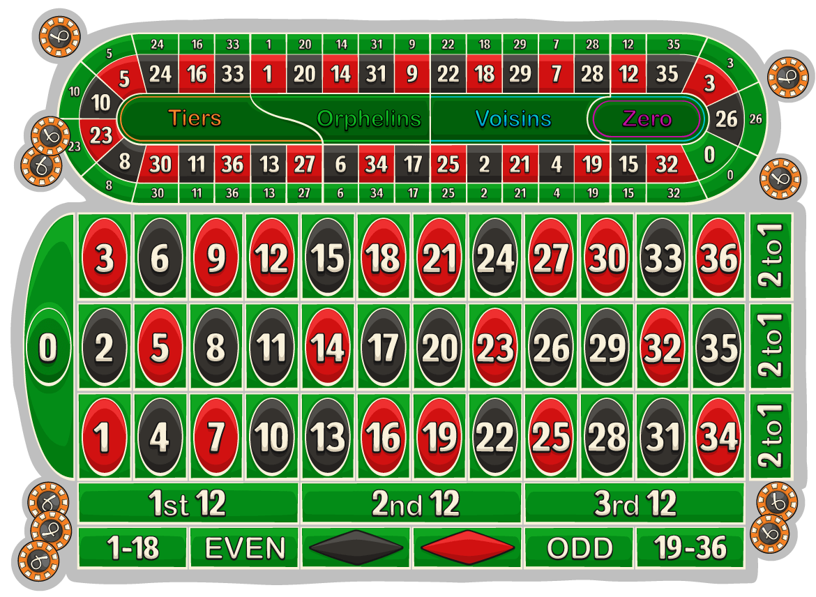 section betting roulette
